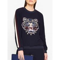 9380f794 Kenzo Tiger Head Crepe Sweatshirt - Navy   very.co.uk