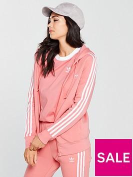 adidas-originals-3-stripe-zip-through-hoodienbsp--powder-pinknbsp