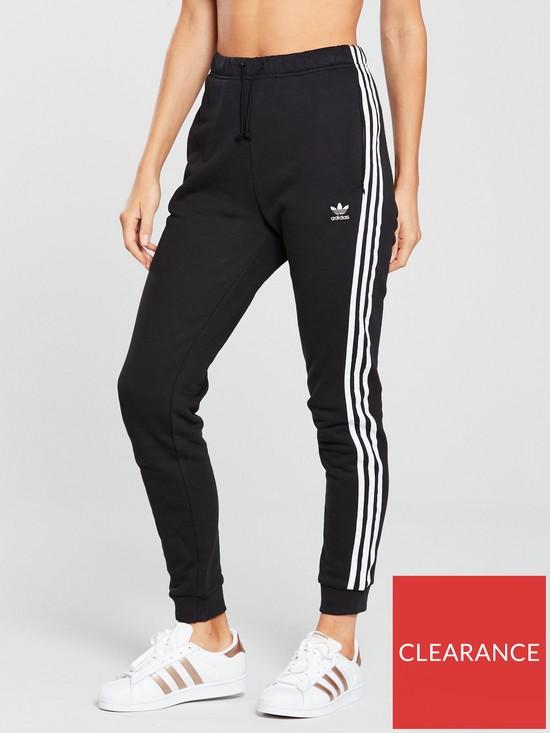bbfe6285fd2a adidas Originals Regular Cuffed Track Pant - Black