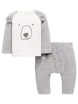 mini-v-by-very-baby-unisex-bear-velour-jog-set