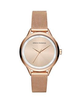 armani-exchange-armani-exchange-rose-gold-dial-rose-gold-mesh-strap-ladies-watch