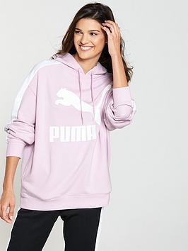Puma Classics Logo T7 Hoodie - Pink