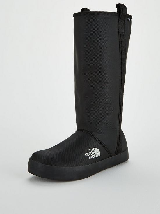 7157be33849 THE NORTH FACE Women's Base Camp Rain Boot Tall - Black   very.co.uk