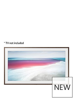 samsung-customisable-walnut-bezel-for-the-frame-43-inch-tv