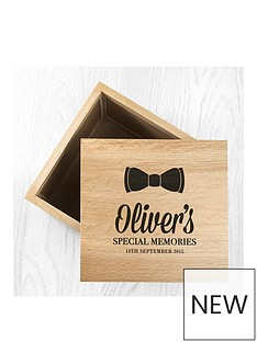 bowtie-special-memories-large-photo-keepsake-box