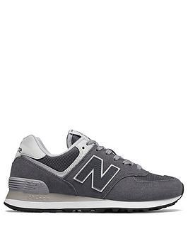 New Balance 574 Classic Running - Grey/White