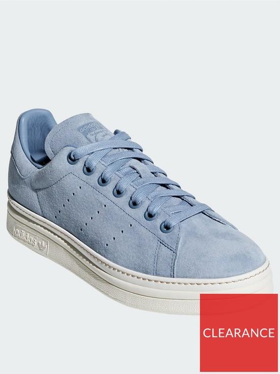 new product b3d2e d7610 adidas Originals Stan Smith New Bold - Blue