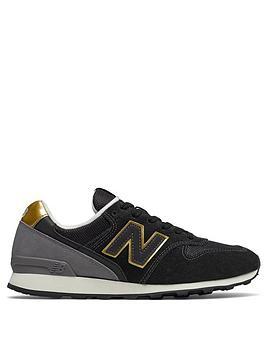 New Balance 996 Classic Running - Black/Gold