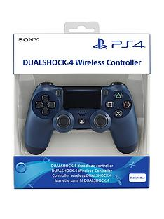 Playstation 4 Midnight Blue DualShock 4 Controller Best Price, Cheapest Prices
