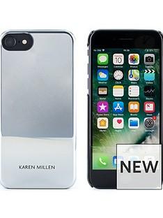karen-millen-iphone-66s78-silver-metallic-hard-shell