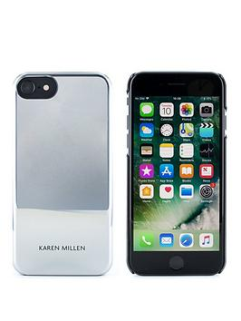 karen-millen-iphone-66s78-silver-metallic-hard-shell