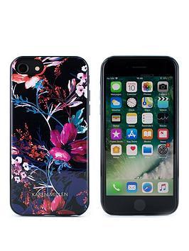 karen-millen-iphone-66s78-flowerblack-shell