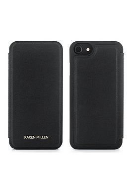 karen-millen-iphone-66s78-folio-black