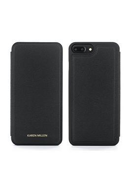 karen-millen-iphone-66s78-plus-folio-black