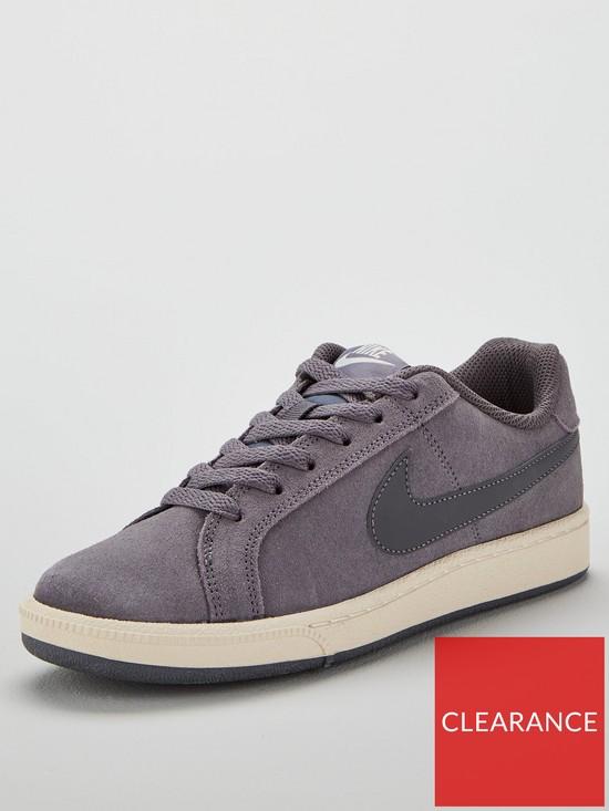 b43af4837ec Nike Court Royale Suede - Charcoal