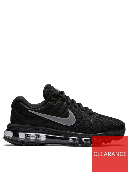 brand new ef1fa d50f2 Nike Air Max 2017 - Black | very.co.uk