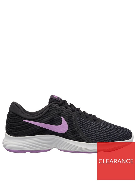 c4f630c382232 Nike Revolution 4 - Black Purple