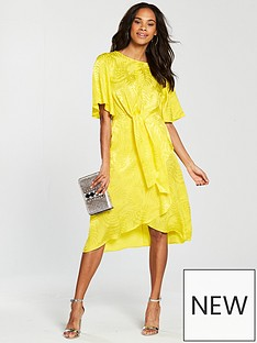 v-by-very-knot-front-midi-dress