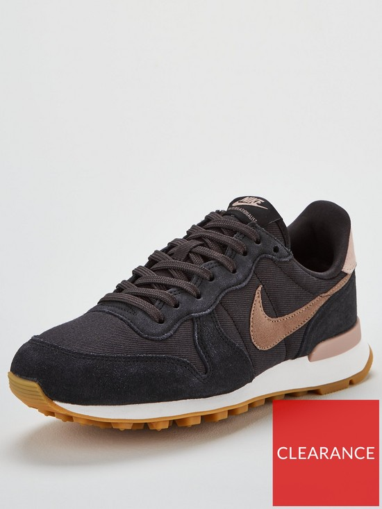 online retailer 5ffe6 93ade Nike Internationalist - Black Grey