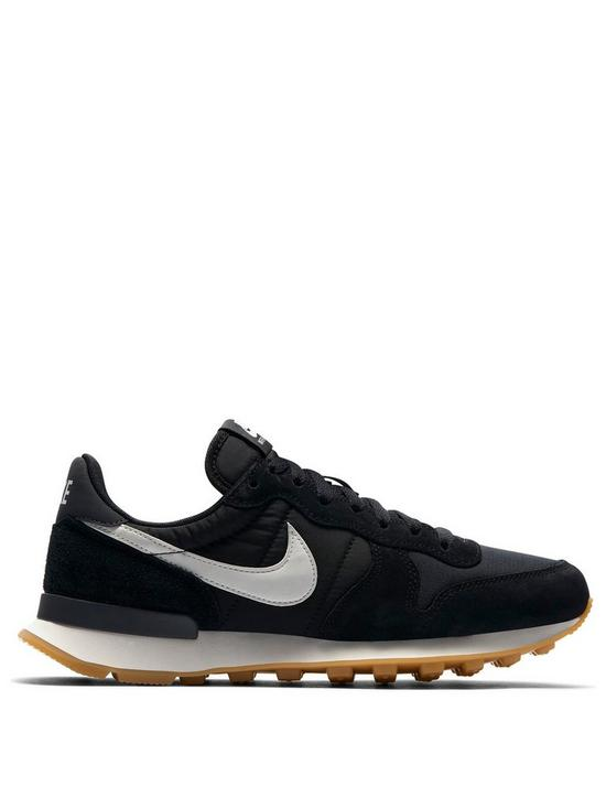 new concept 16093 5820f Nike Internationalist - Black White