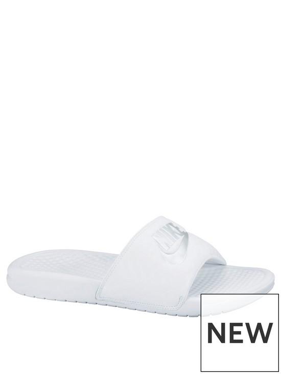 big sale d0fed c93cc Nike Benassi JDI Slider - White