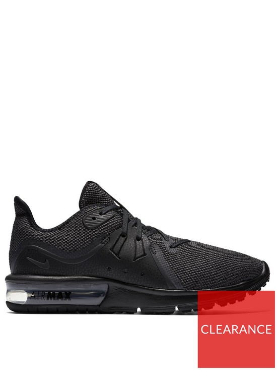arrives 077e8 f5a39 Nike Air Max Sequent 3 - Black