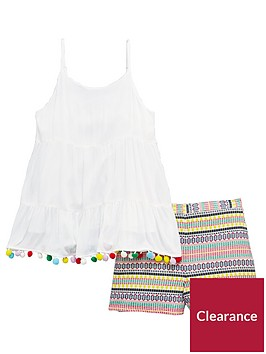 v-by-very-girls-pom-pom-top-amp-short-outfit