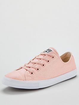 Converse Chuck Taylor All Star Glitter Dainty Ox - Pink