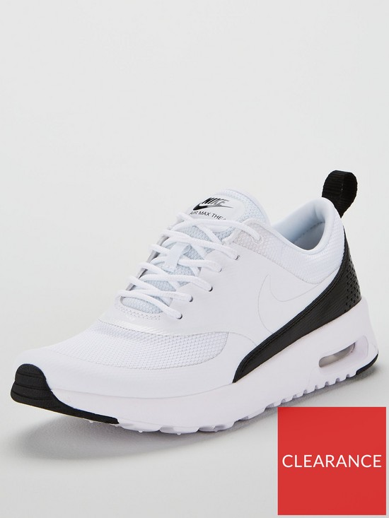 newest 7fc7e c810b Nike Air Max Thea - White Black   very.co.uk