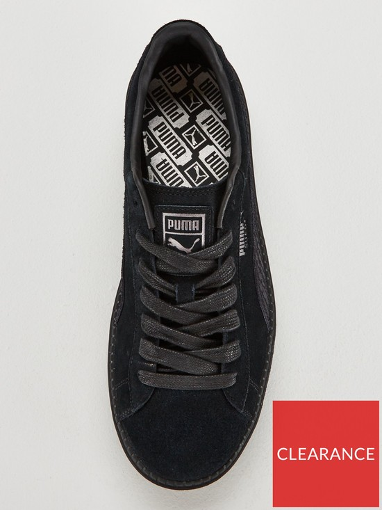 d4ecf399ee6 ... Puma Suede Platform Trace Animal - Black. View larger