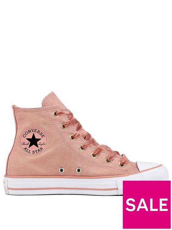 31f482b7d5dc Converse Chuck Taylor All Star Canvas Hi-Top - Pink