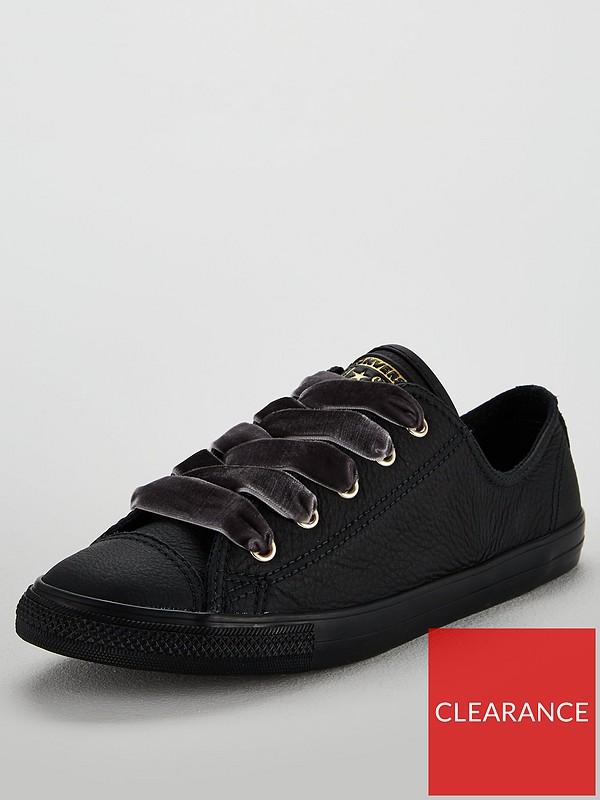 Chuck Taylor All Star Dainty Leather Ox Black