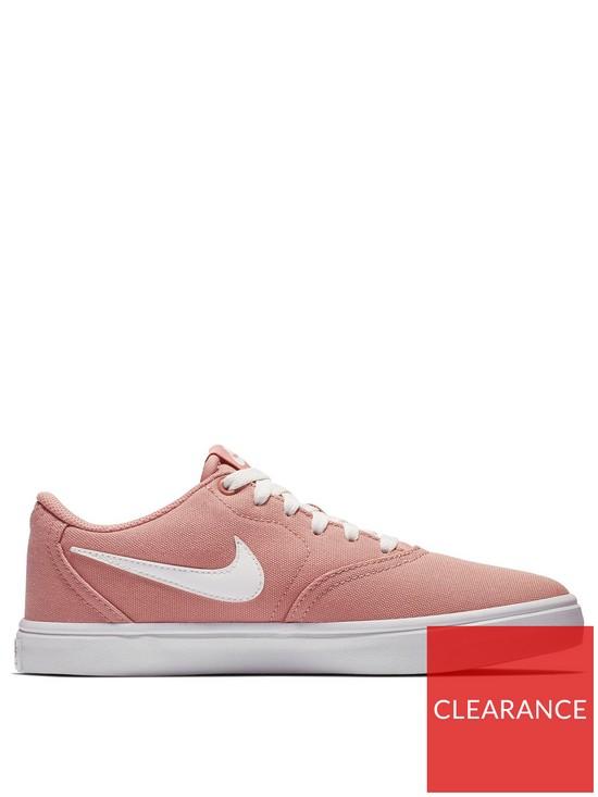 3f63668d258f Nike SB Check Solar Canvas - Pink