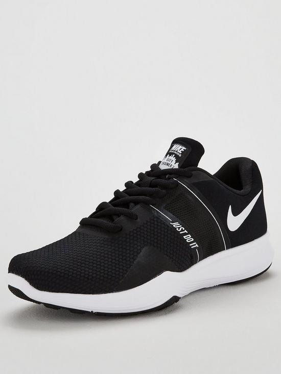 save off d26c2 80a3a Nike City Trainer 2 - Black White