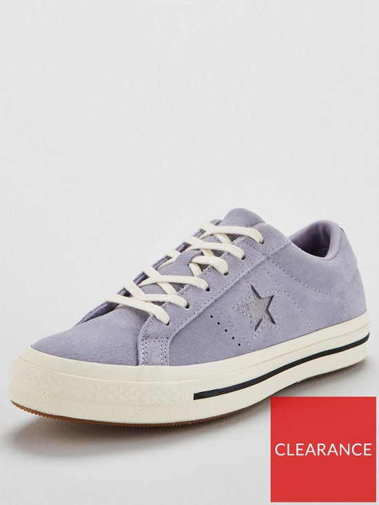 6a9857907b6c Converse One Star Suede Ox - Lilac