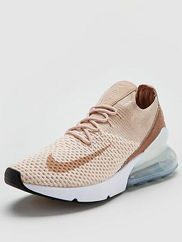 Nike Air Max 270 Flyknit - Pink