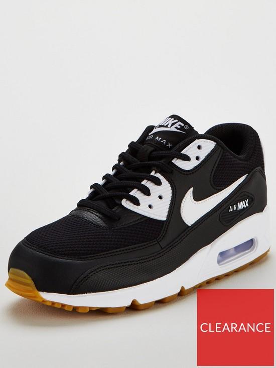 9a7e64ffaeddf Nike Air Max 90 - Black/White | very.co.uk