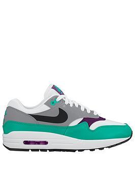 Nike Air Max 1 - White/Purple/Green