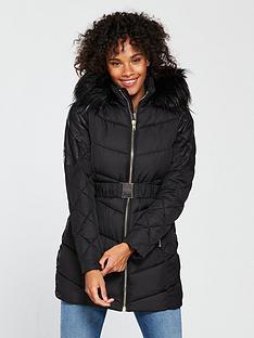 v-by-very-punbspmix-beltednbsppadded-jacket-black