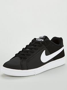 low priced de897 cdf78 Nike Court Royale - Black White