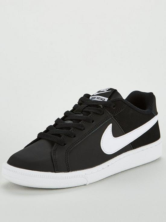 e0bf3c96c9e Nike Court Royale - Black White