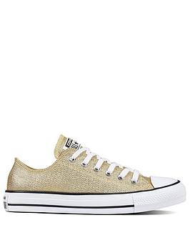 Converse Chuck Taylor All Star Glitter Ox - Gold