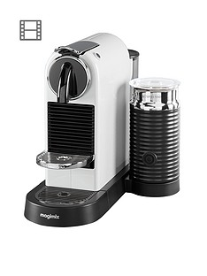 Nespresso CitiZ & Milk Coffee Machine by Magimix - White