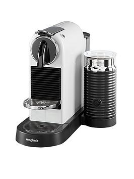 Nespresso Citiz &Amp; Milk Coffee Machine By Magimix – White
