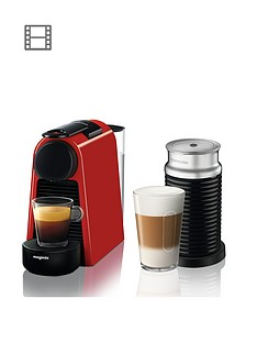 nespresso-essenza-mini-coffee-machine-and-aeroccino-by-magimix-ruby-red