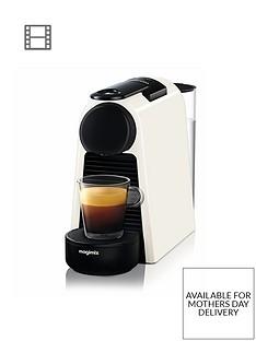 Nespresso Essenza Mini Coffee Machine by Magimix - Pure White