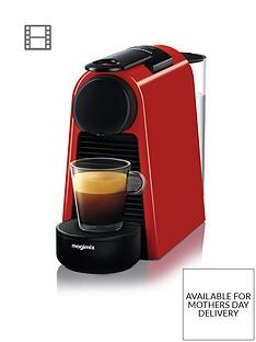 Nespresso Essenza Mini Coffee Machine by Magimix - Ruby Red