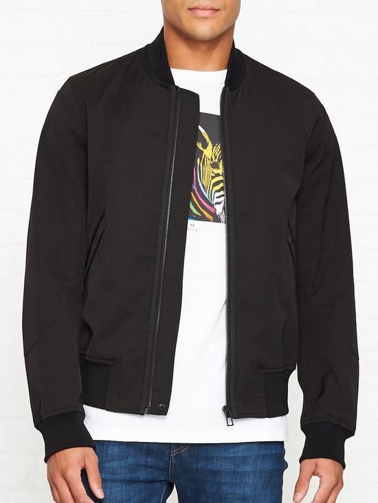 5880a23e7 Wadded Cotton-Blend Bomber Jacket - Black