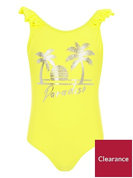 river-island-girls-yellow-lsquoparadisersquo-swimsuit