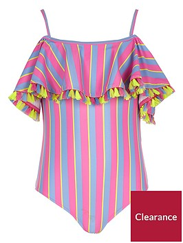 river-island-girls-pink-bardot-stripe-frill-swimsuit